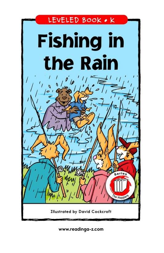 Book Preview For Fishing in the Rain Page 1