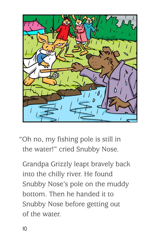 Book Preview For Fishing in the Rain Page 10