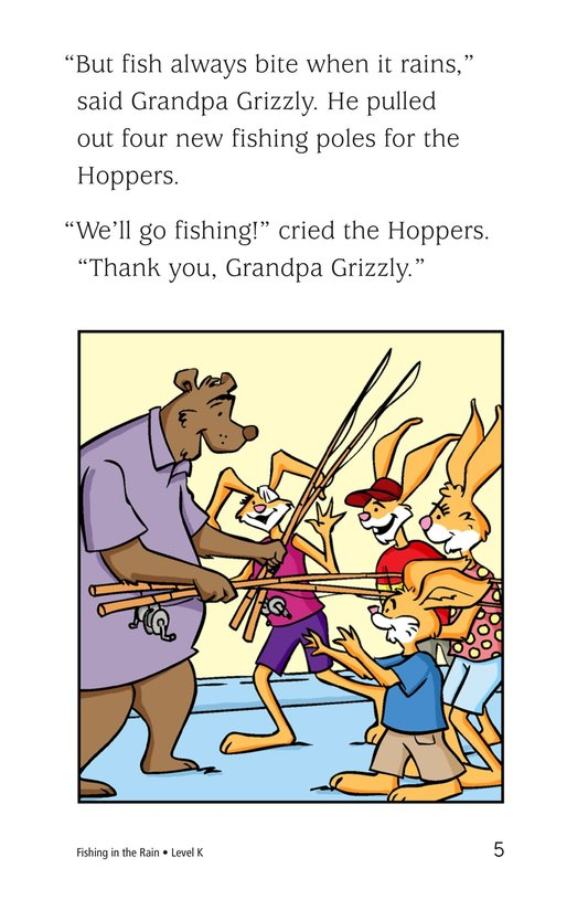 Book Preview For Fishing in the Rain Page 5