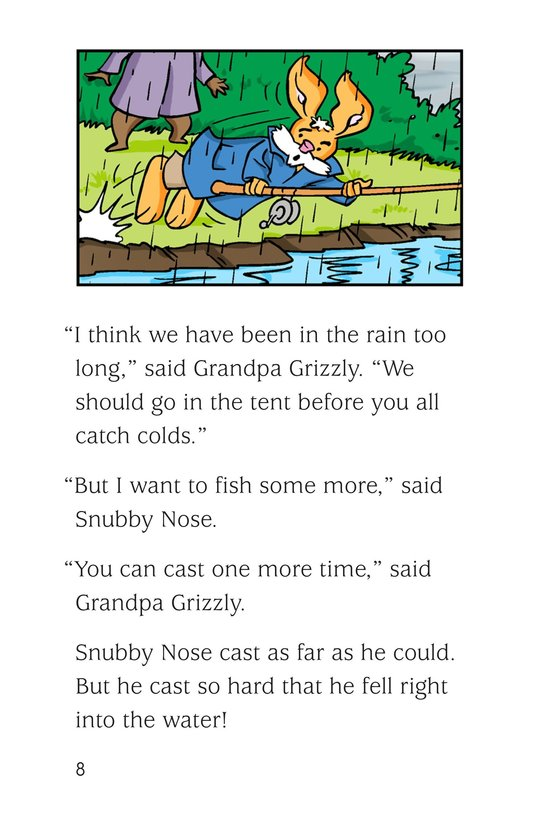 Book Preview For Fishing in the Rain Page 8