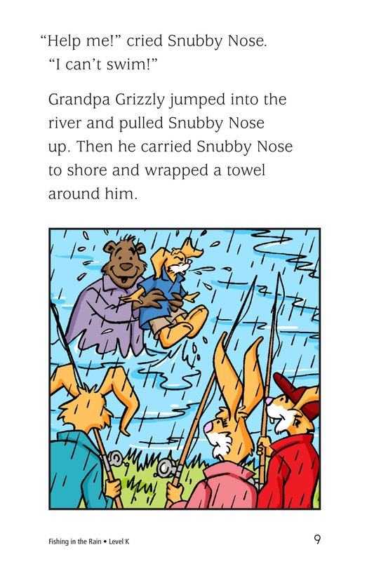 Book Preview For Fishing in the Rain Page 9