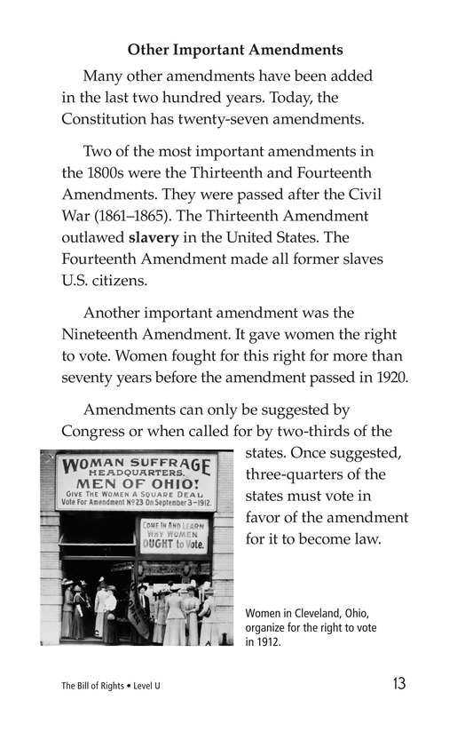 Book Preview For The Bill of Rights Page 13