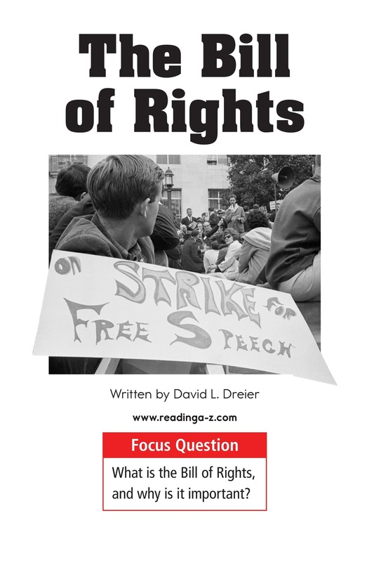Book Preview For The Bill of Rights Page 1
