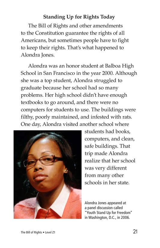 Book Preview For The Bill of Rights Page 21