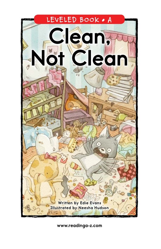 Book Preview For Clean, Not Clean Page 0