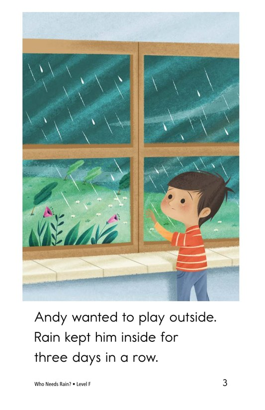 Book Preview For Who Needs Rain? Page 3