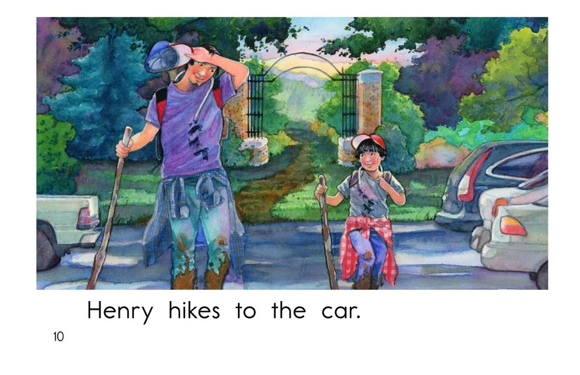 Book Preview For Henry's Hike Page 10