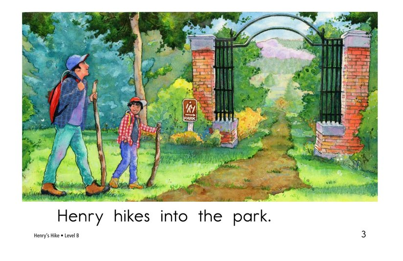 Book Preview For Henry's Hike Page 3
