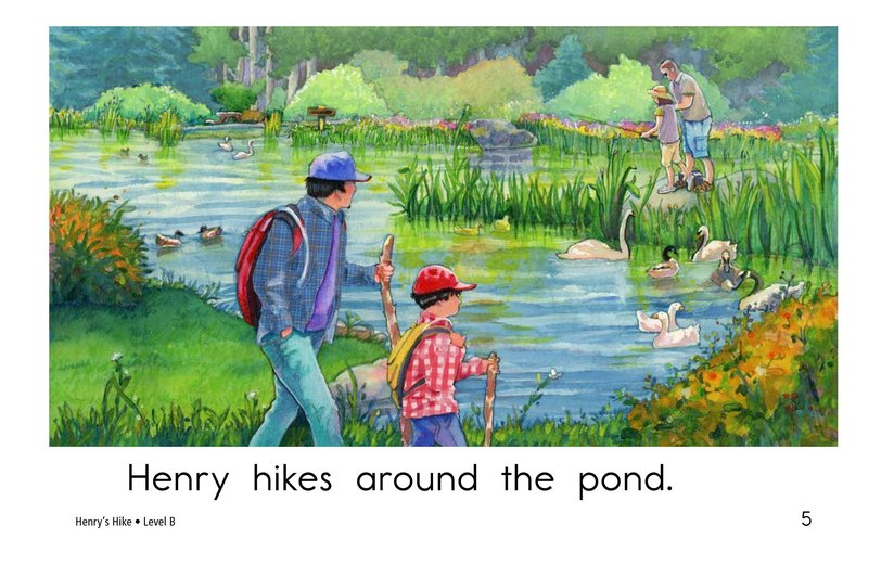 Book Preview For Henry's Hike Page 5