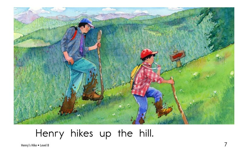Book Preview For Henry's Hike Page 7