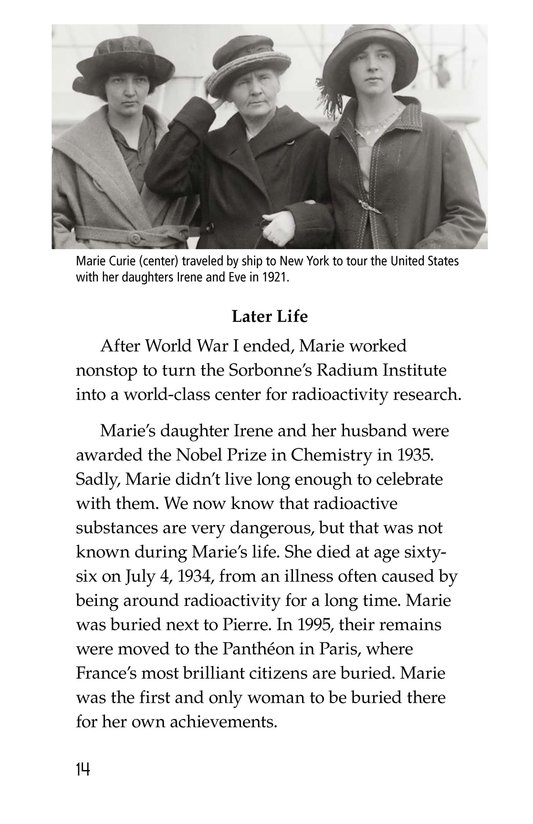 Book Preview For Marie Curie Page 14