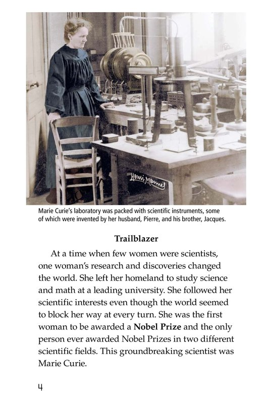Book Preview For Marie Curie Page 4