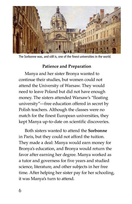 Book Preview For Marie Curie Page 6
