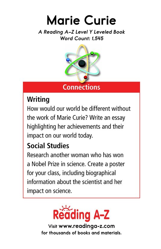 Book Preview For Marie Curie Page 17