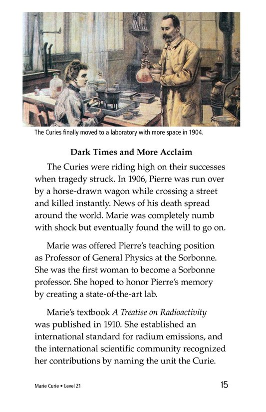 Book Preview For Marie Curie Page 15