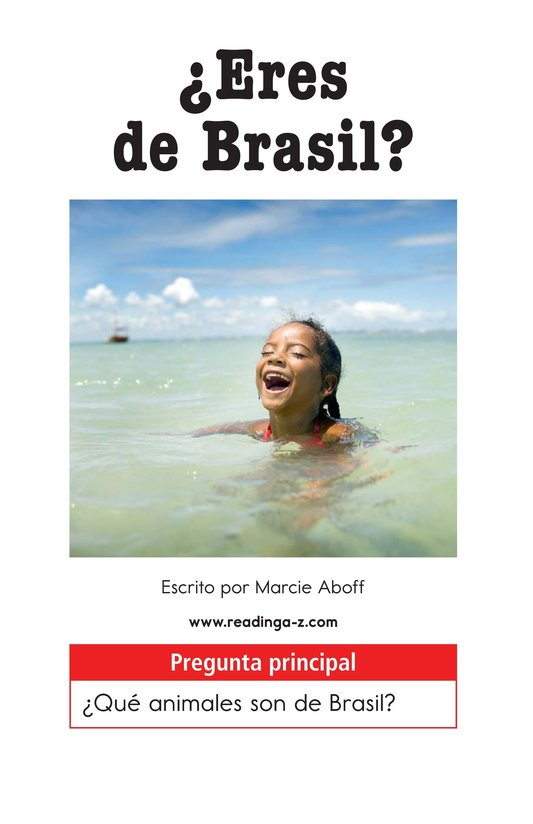 Book Preview For Are You From Brazil? Page 1