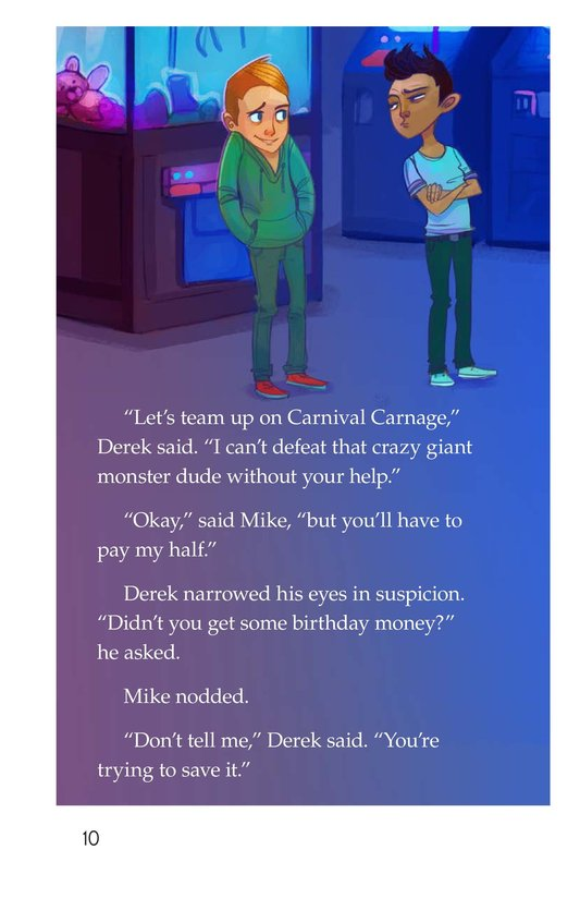 Book Preview For Book 1: The Kid Who Couldn't Save Page 10
