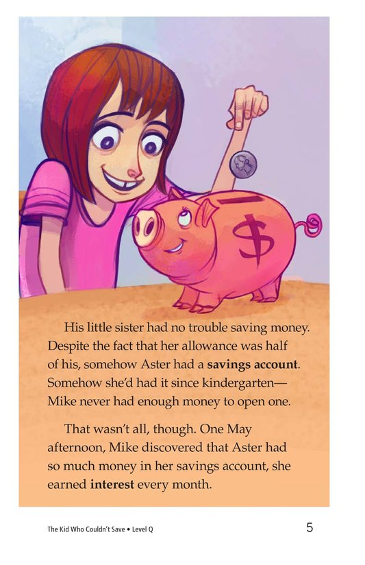 Book Preview For Book 1: The Kid Who Couldn't Save Page 5