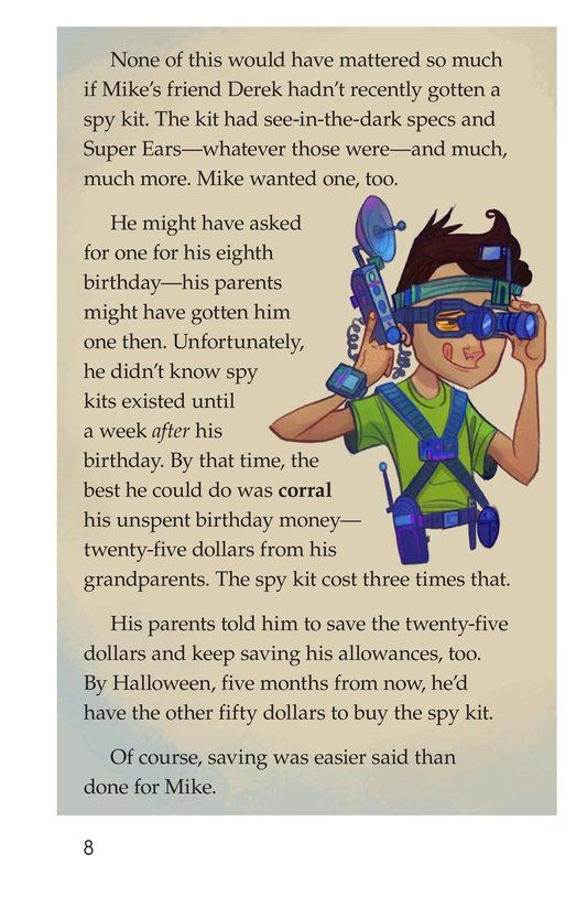 Book Preview For Book 1: The Kid Who Couldn't Save Page 8