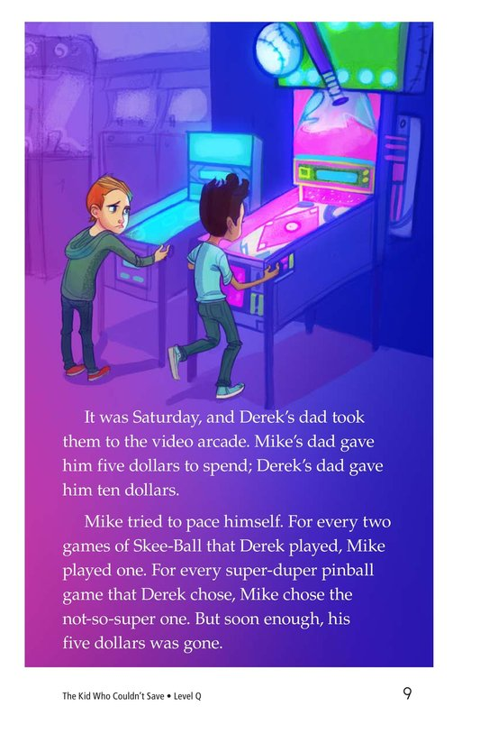 Book Preview For Book 1: The Kid Who Couldn't Save Page 9