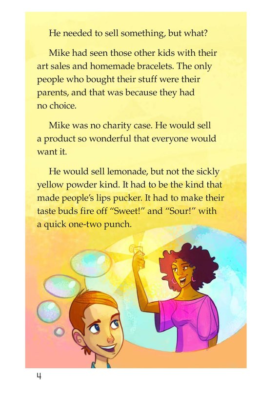 Book Preview For Book 2: Who Likes Lemonade? Page 4