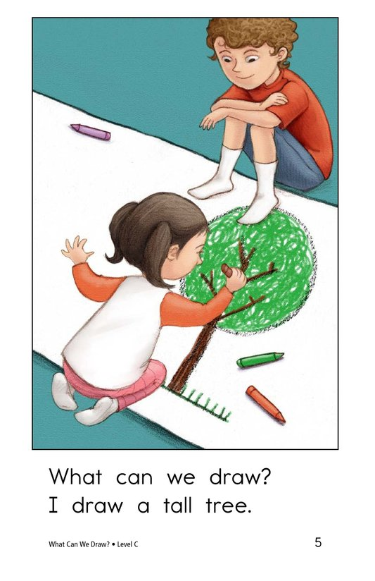 Book Preview For What Can We Draw? Page 5