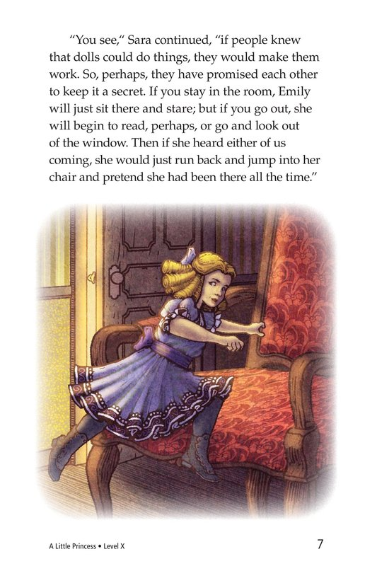 Book Preview For A Little Princess (Part 2) Page 7