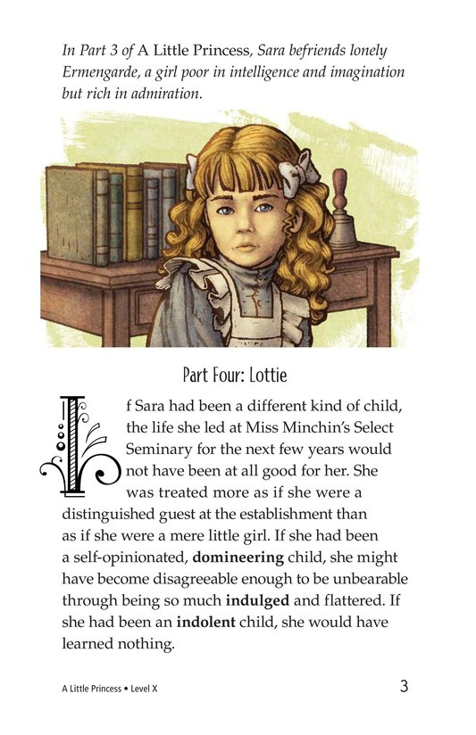 Book Preview For A Little Princess (Part 4) Page 3