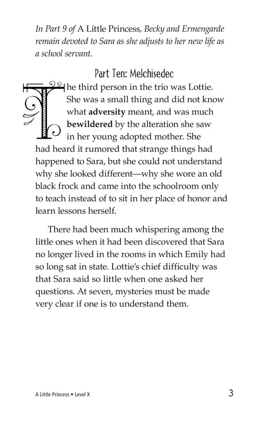 Book Preview For A Little Princess (Part 10) Page 3