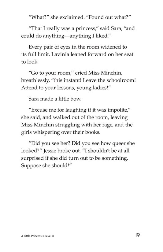 Book Preview For A Little Princess (Part 12) Page 19