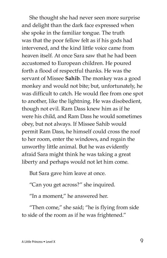 Book Preview For A Little Princess (Part 12) Page 9