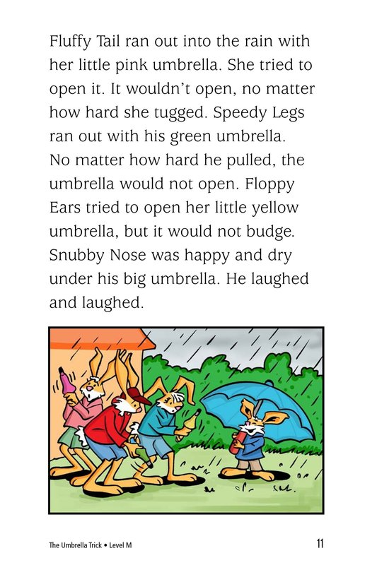 Book Preview For The Umbrella Trick Page 11