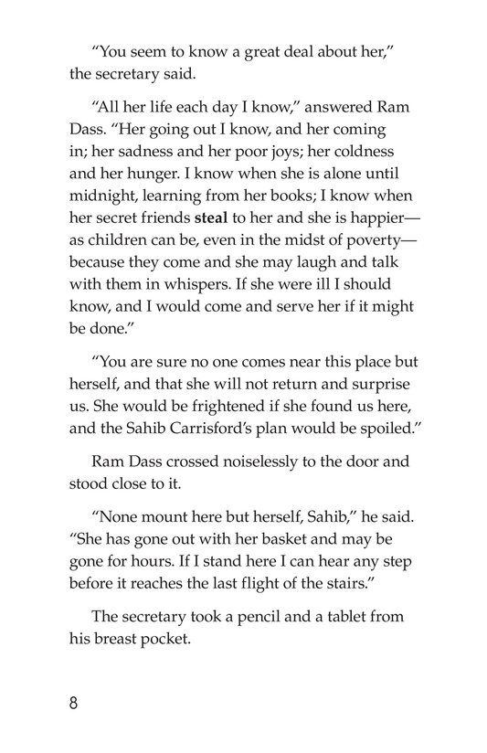 Book Preview For A Little Princess (Part 15) Page 8