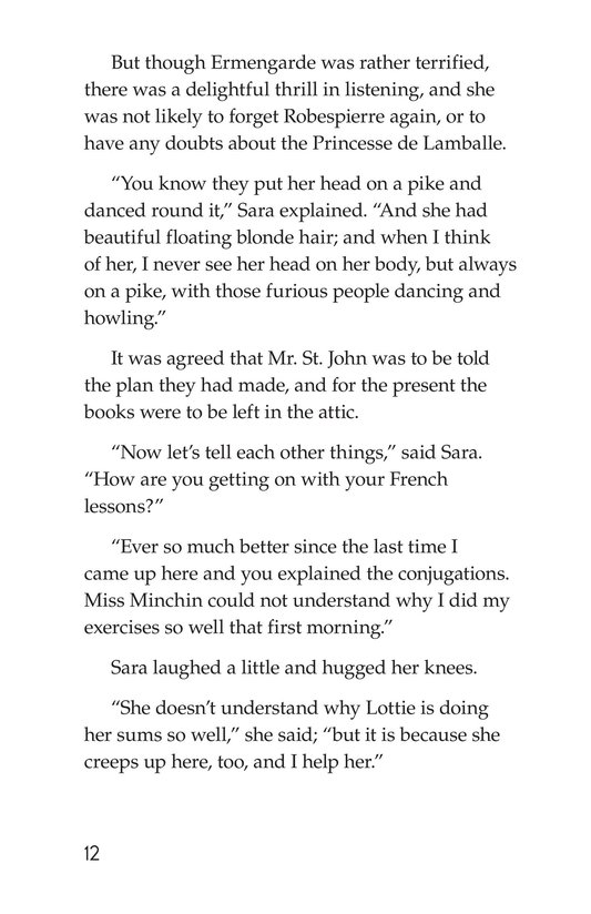 Book Preview For A Little Princess (Part 16) Page 12