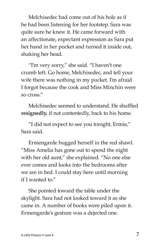 Book Preview For A Little Princess (Part 16) Page 7