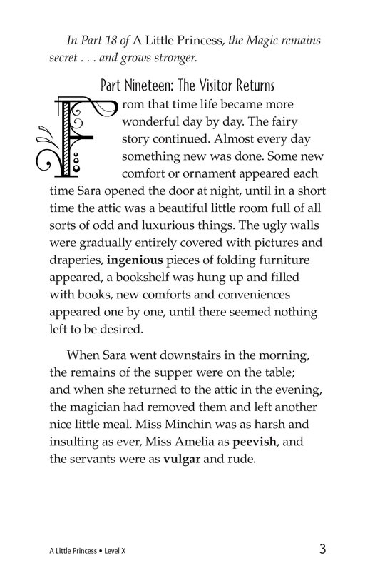Book Preview For A Little Princess (Part 19) Page 3