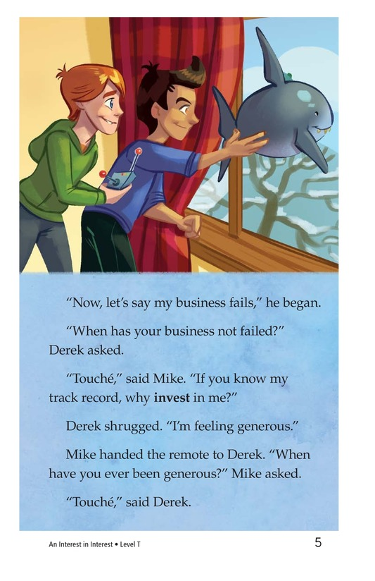 Book Preview For Book 9: An Interest in Interest Page 5