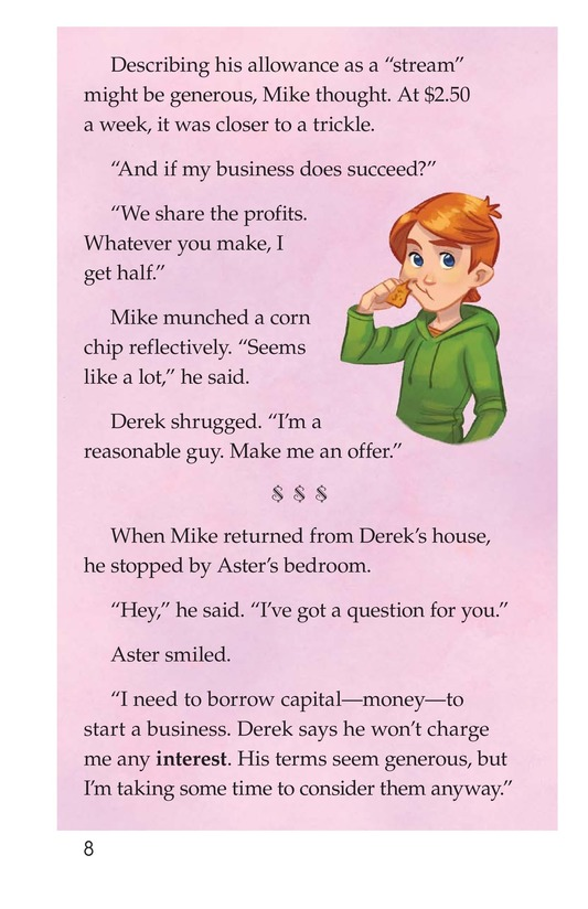 Book Preview For Book 9: An Interest in Interest Page 8