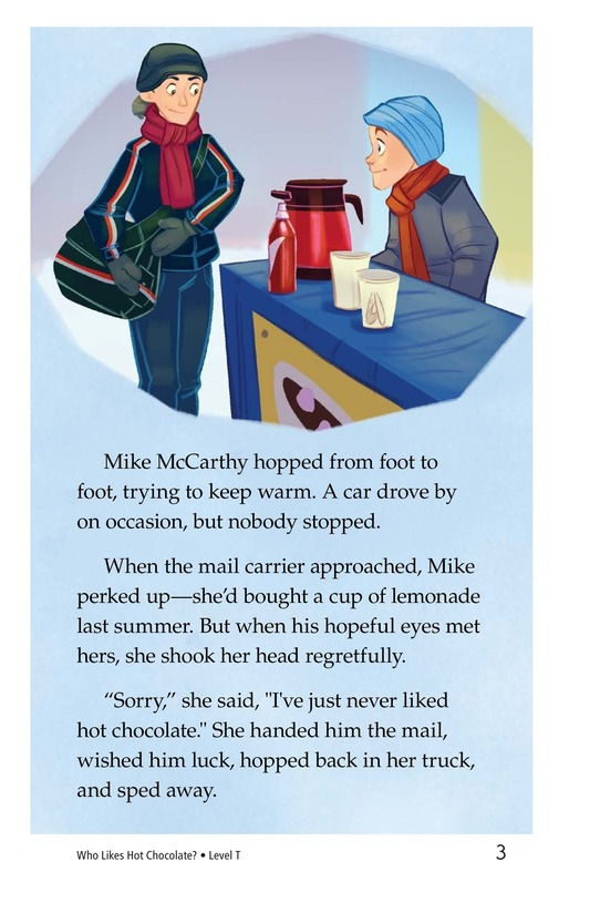 Book Preview For Book 8: Who Likes Hot Chocolate? Page 3