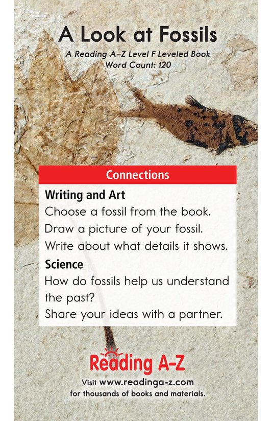 Book Preview For A Look at Fossils Page 13