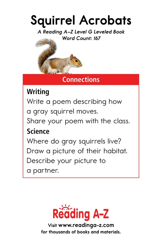 Book Preview For Squirrel Acrobats Page 13