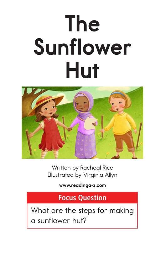 Book Preview For The Sunflower Hut Page 1