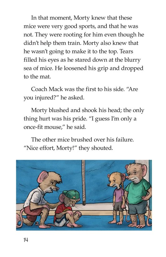 Book Preview For Morty and the Twice-Fit Mice Page 14