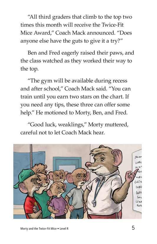 Book Preview For Morty and the Twice-Fit Mice Page 5