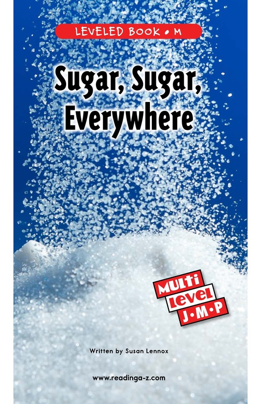 Book Preview For Sugar, Sugar, Everywhere Page 0