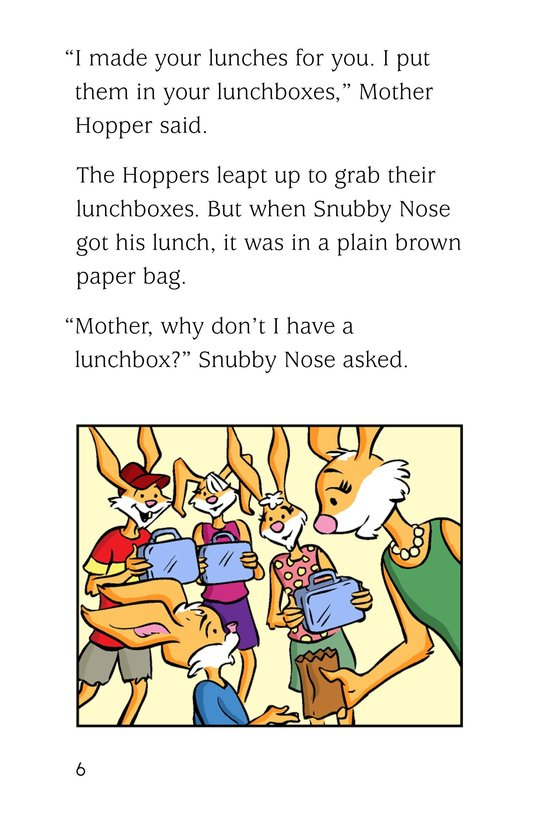 Book Preview For The Hoppers Start School Page 6