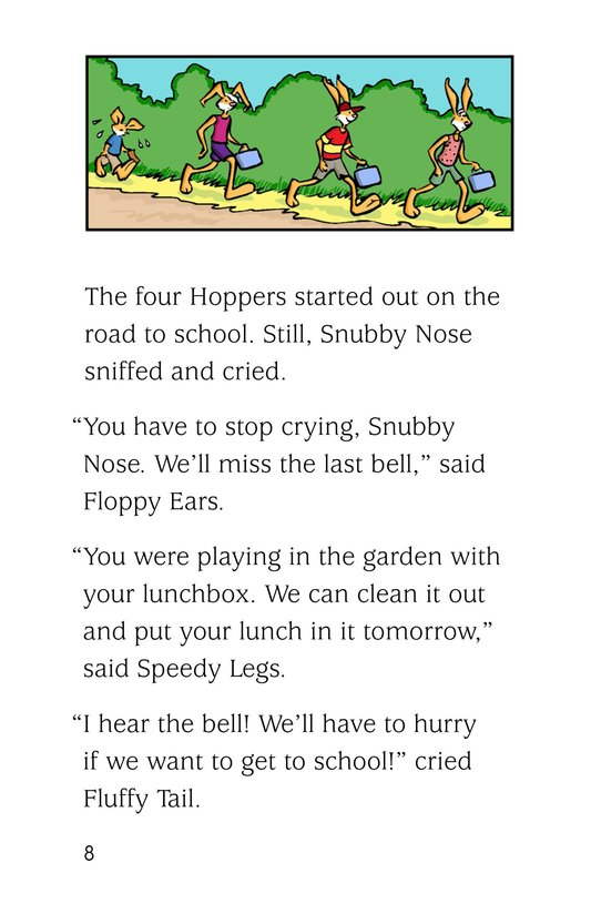 Book Preview For The Hoppers Start School Page 8