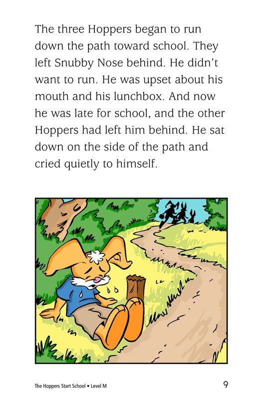 Book Preview For The Hoppers Start School Page 9