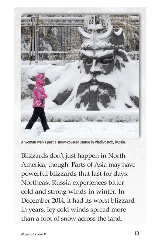 Book Preview For Blizzards! Page 13