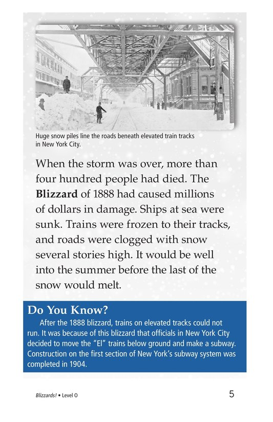 Book Preview For Blizzards! Page 5